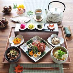 Food Design, Menu Design, Japanese Dishes, Japanese Food, Asian Recipes, Gourmet Recipes, Food Presentation, Food Inspiration, Food To Make
