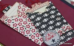 crafty goodies: Perfect pockets for journal cards~