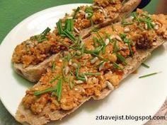 Zdravě jíst: Mrkvovo-cizrnová pomazánka