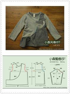 Bkp Kids Clothes Patterns, Kids Patterns, Dress Sewing Patterns, Baby Kids Clothes, Clothing Patterns, Sewing For Kids, Baby Sewing, Baby Girl Fashion, Kids Fashion