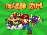 Mario is in rush but there are many obstacles all over! Dont let the enemies get mario!