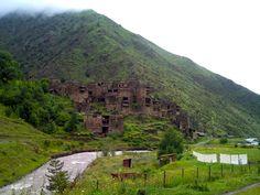 Shatili - Khevsureti - Caucasus - Georgia. A Forgotten Paradise on the Chechen Border.