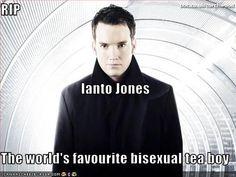 RIP Ianto Jones The worlds favourite bisexual tea boy