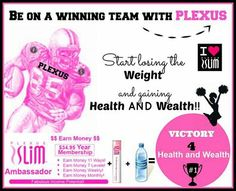Join this amazing company! Get paid to lose weight and feel great! Plexus is changing life, let it change yours! Contact me with questions plexusslim.com/h2bright  ambassador # 305135