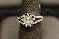 Ladies Texas Tech Diamond Alumni Ring