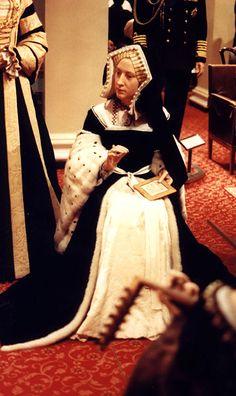 Wax figure of Catherine of Aragon