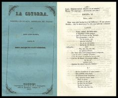 La cotorra : zarzuela en un acto / arreglada del francés por Don Luis Olona ; música de Don Joaquín Gaztambide.  http://bvirtual.bibliotecas.csic.es/csic:csicalephbib000549580