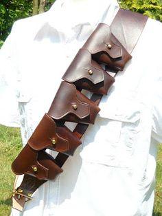 KellDragon Leathercraft: Leather Jawa Bandolier