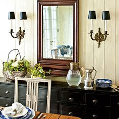 Stock the Sideboard - Casual Thanksgiving Tablesetting - Southern Living