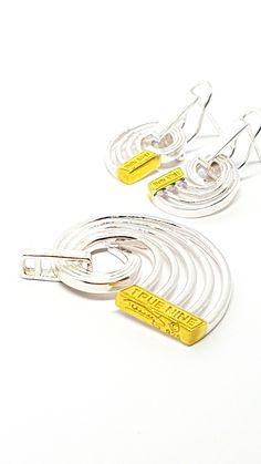 True 9 Pendant & Earrings by David J. David J, Pendant Earrings, Thoughtful Gifts, Jewelry Design, Fashion Jewelry, Concept, Jewellery, Sterling Silver, Beautiful