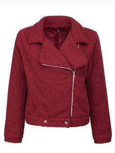 YiYLunneo Mens Shearling Coats Winter Warm Faux Fur Liner Lapel Zipper Motorcycle Leather Jacket Outwear