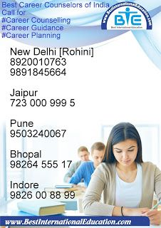 Call for Counselling Guidance Planning Team of Best Career Counselors of India New Delhi [ Rohini] Gris. Career Counseling, Career Education, Career Planning, Career Advice, Pilot Career, David Best, Post Ad, Best Careers, Indore