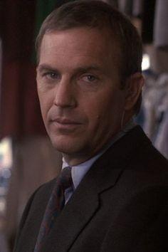 Kevin as Frank Farmer in 'The Bodyguard'