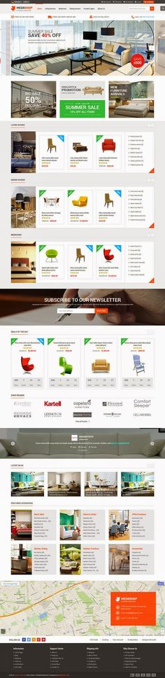 Buy Megashop - Multipurpose Responsive Magento Theme by magentech on ThemeForest. Megashop – Magento Theme with Responsive Layout Let's make your store more impressive with our new beautiful de. Image Slideshow, Mega Menu, Responsive Layout, Website Themes, Ecommerce, Color Schemes, Web Design, Let It Be, Make It Yourself