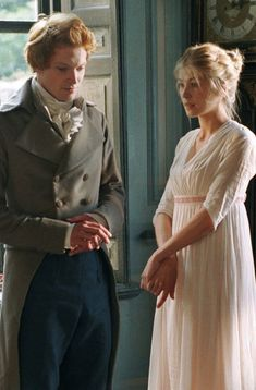 I like Jane and Bingley, but of course I like Lizzy and Darcy much more