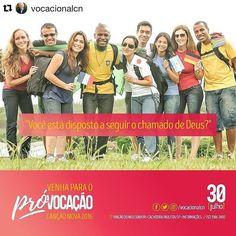#Repost @vocacionalcn (via @repostapp)  E aí? Você está disposto? #Próvocacao #CanãoNova  #30dejulho