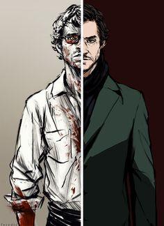 Hannibal Fan Art by feredir / Will Graham