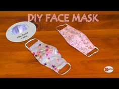 HOW TO MAKE FACE MASK AT HOME | DIY FACE MASK WITH FILTER POCKET AND WIRE| SEWING TUTORIAL - YouTube