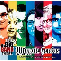 Big Bang Theory Ultimate Genius Party Game   Connect with your inner nerd. $25.00