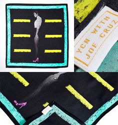 Joe Cruz - Limited Editon 100% silk Pocket Square
