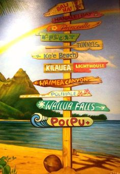 I love the island of Kauai! Been to all of these sites. So lucky to say I have! Beautiful!