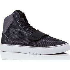 Mens Santos Fashion Sneaker, Black/White Ballistic, 10 M US Creative Recreation