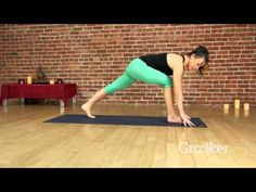 A Yoga Workout to Get Your Heart Racing - - Short on time? This fast-paced flow is for you. 30 Minute Cardio Workout, Hiit Abs, 30 Minute Yoga, Cardio Yoga, Pilates, Tabata Workouts, Yoga Videos, Workout Videos, Workout Splits