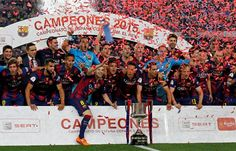 De esta manera, el Barcelona conquistó su título número 27 en la Copa del Rey y lo sumó a la corona en la liga lograda días atrás. Al equipo del entrenador Luis Enrique le queda un gran desafío antes del cierre de la temporada
