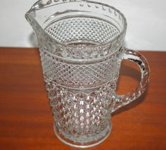 Wexford Crystal Water Pitcher. Belonged to my grandmother Carolyn Hatcher.