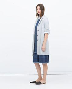 Image 1 of LONG COAT from Zara