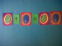 Art Inspired Math Ideas.  Kandisky circles to teach math.  Click the image for ideas.