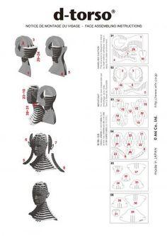 Afbeeldingsresultaat voor D-Torso Cardboard Animals - Horse Cardboard Design, Cardboard Paper, Cardboard Furniture, Cardboard Crafts, Wood Crafts, Paper Crafts, 3d Cuts, 3d Puzzel, Sliceform