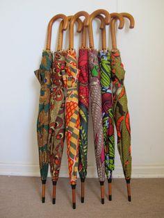 #AfroFunky Babatunde Umbrella! I had this idea in khanga print! Watch this space for #ZeroByZawadi umbrellas!