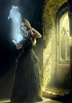 Вызов духа из книги маги и