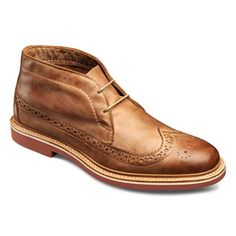 Allen Edmonds Chukkamok Tan Leather Chukka Boots 7044 Tan Leather - great ankle boot