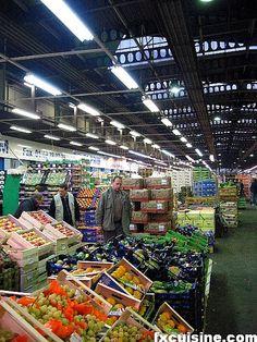 Paris: Rungis, the world's largest produce/game wholesaler (public visits only by tour)