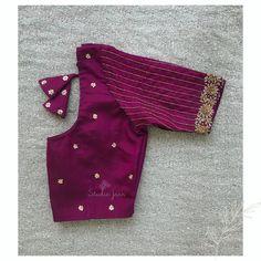 Blouse Back Neck Designs, Cutwork Blouse Designs, Salwar Neck Designs, Pattu Saree Blouse Designs, Churidar Designs, Hand Work Blouse Design, Simple Blouse Designs, Stylish Blouse Design, Engagement Saree