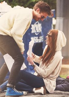Arthur Darvill + Karen Gillan. I wish I knew them in real life.