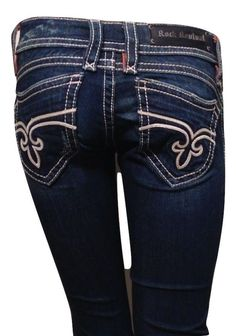 "Rock Revival Size 26 ""Amy"" Boot Cut Jeans  #RockRevival #BootCut"