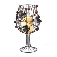 Wine Metal Candle Holder | Kirkland's