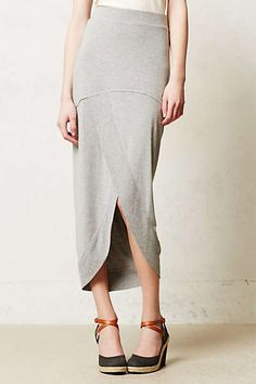 Anthropologie - Draped Maxi Skirt