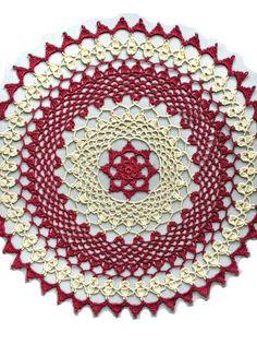 Free Crochet Patterns: Christmas Tree Doily Pattern Free ...