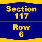 #Ticket  2 Tickets Philadelphia Phillies Dodgers 8/17/16 at Citizens Bank Park  117 6 #deals_us