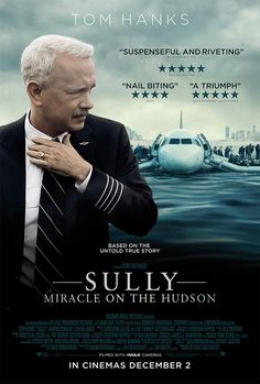 Not what I expected but not in a bad way. Never realised that Sully faced such persecution from the crash investigators. But good triumphs and a feel good film. Worth a watch