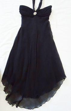 Vestido de Seda Preta