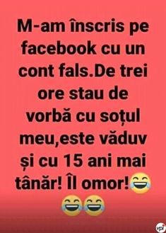 Cont fals pe Facebook - Viral Pe Internet Funny Facts, Funny Jokes, Funny Advertising, True Memes, Lol So True, Life Humor, Puns, Texts, Funny Pictures