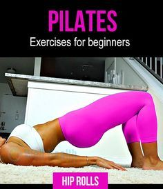 4 Pilates exercises for beginners. #fitness