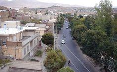 Saqqez City in the Province Kurdistan, Iran.