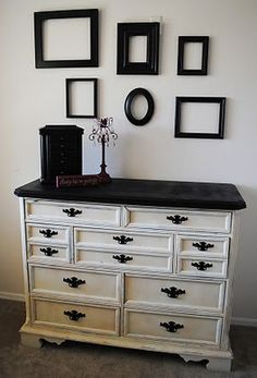 """Receive fantastic ideas on """"shabby chic furniture diy"""". They are actually on call for you on our web site. Spray Paint Furniture, Furniture Makeover, Painted Furniture, Refinished Furniture, Furniture Projects, Home Projects, Diy Furniture, Bedroom Furniture, Redoing Furniture"""