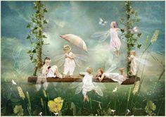 Fairies and mythological animals